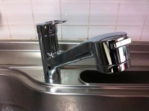 名古屋市東区 水栓 換気扇取替工事 水栓施工