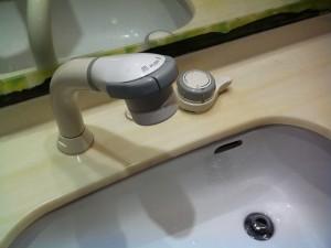 名古屋市瑞穂区 洗面水栓取替工事 施工前