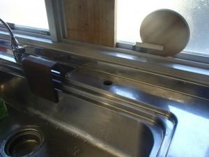 キッチン水栓取替工事 施工前